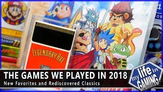 The Games We Played in 2018 - New Favorites and Rediscovered Classics