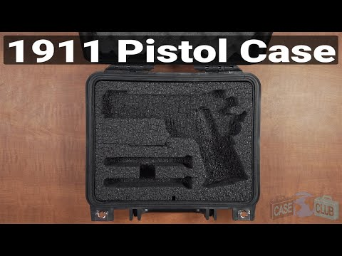 1911 Pistol Case - Featured Youtube Video