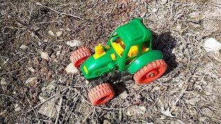 Мультики про машинки и трактор. Сборник 10 серий подряд - Cartoons about cars and tractor