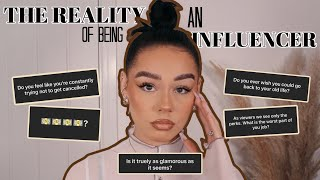 THE REALITY OF BEING AN INFLUENCER- GOOD, BAD & UGLY | W/ MY EVERYDAY MAKEUP ROUTINE