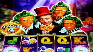 Willy Wonka Dream Factory Slot   HUGE WIN SESSION, I JUST KEPT WINNING!
