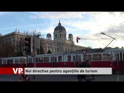 Noi directive pentru agențiile de turism