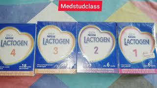 Lactogen 1 Vs Lactogen 2 Vs Lactogen 3 Vs Lactogen 4