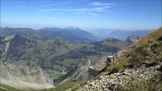 The Rothorn steam mountain railway switzerland