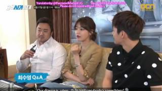 "[ENG SUB] Squad 38 - 38 사기동대 ""Will there be romance in this drama?"""