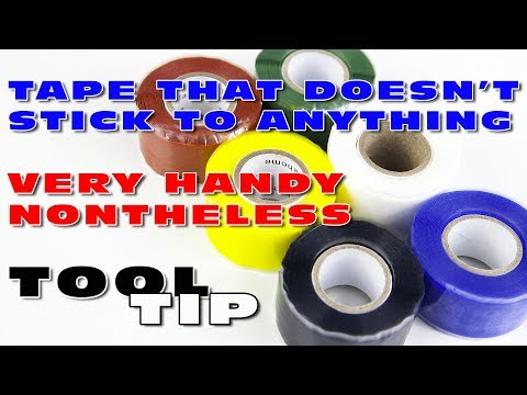 A Tool Tip video showing you some practical applications of this silicone tape :)