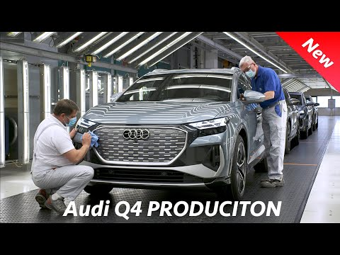 Audi Q4 e-Tron 2022 CRAZY PRODUCTION - This is how it's made!
