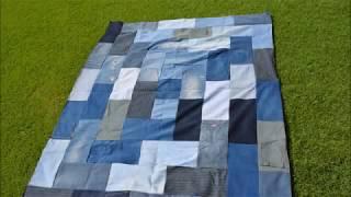 Denim Picnic Blanket Tutorial