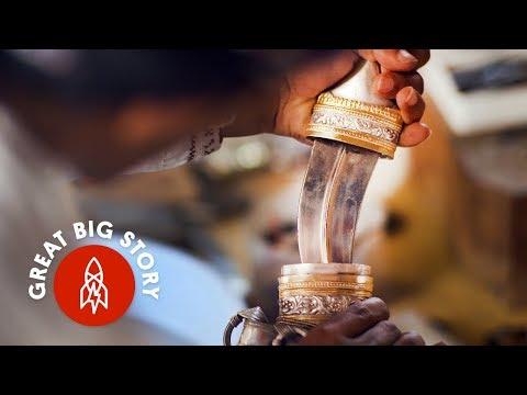 Meet the Master Knife Maker of Oman