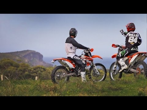 Riding the High - KTM 300EXC