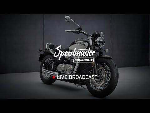 Nueva Bonneville Speedmaster – Reveal