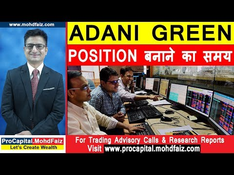 ADANI GREEN ENERGY LATEST NEWS | Position बनाने का समय | Latest Stock Market Analysis