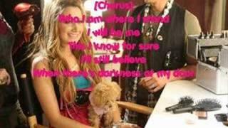 Ashley Tisdale- I Will Be Me *With Lyrics!
