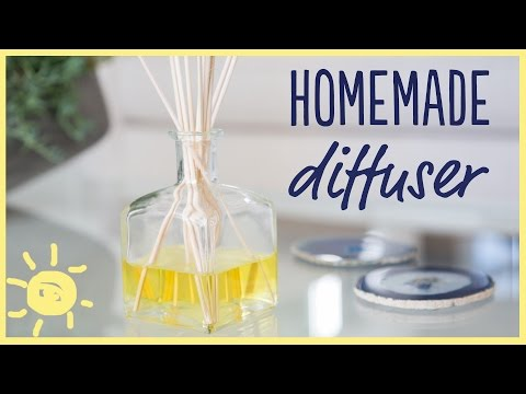 Scent Your Home with this Simple 3-Ingredient DIY Diffuser!