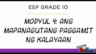 modyul 4 esp grade 10 - 免费在线视频最佳电影电视节目