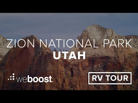 Visiting Zion National Park in Utah? Here's How To Prepare for a Fun & Safe Visit | weBoost