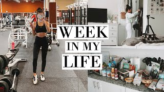 WEEKLY VLOG | MY 2020 FITNESS GOALS & GETTING ORGANIZED