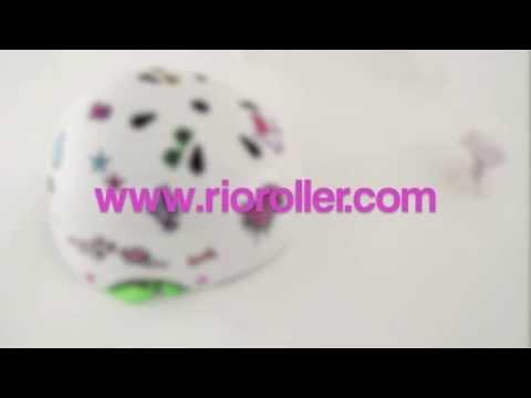 Rio Roller Sticker Helmet