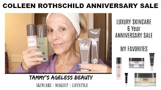 Colleen Rothschild | 6 Year Anniversary SALE | #luxuryskincare