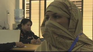 A lifeline for women facing domestic violence in Pakistan