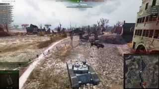 World of Tanks BatChatillon 25t 8500 урона