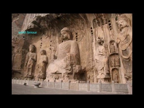 World famous Mogao Caves - The Caves of