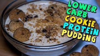Lower Carb Bodybuilding Cookie PROTEIN Pudding Recipe
