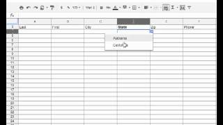 How to Control the Values entered into a Google Spreadsheet - Самые ...