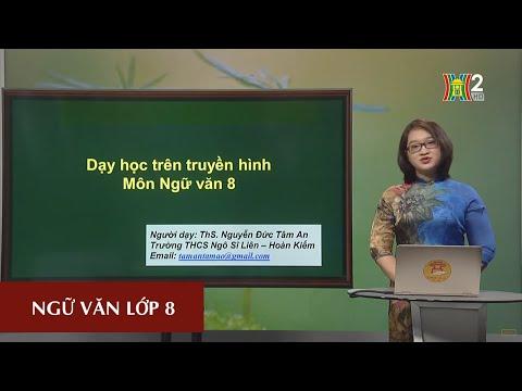 MÔN NGỮ VĂN - LỚP 8 | CÂU CẢM THÁN | 10H00 NGÀY 08.04.2020 | HANOITV