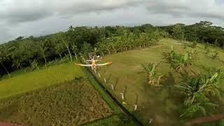 Drone fpv freestyle edisi tumben terbang..
