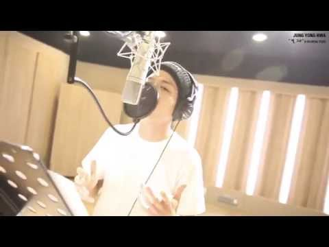 141222 Yonghwa Fan Song Recording in Studio  - 'You,My Star'