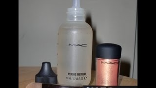 Review: MAC Pro Water Based Mixing Medium