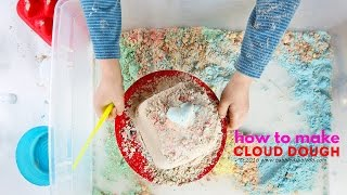 How To Make Cloud Dough: Basic, Colored, & Chocolate | CREATIVE BASICS Episode 2