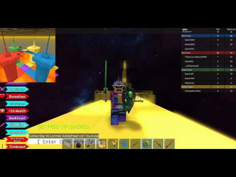 Red VS Blue VS Green VS Yellow! - Roblox
