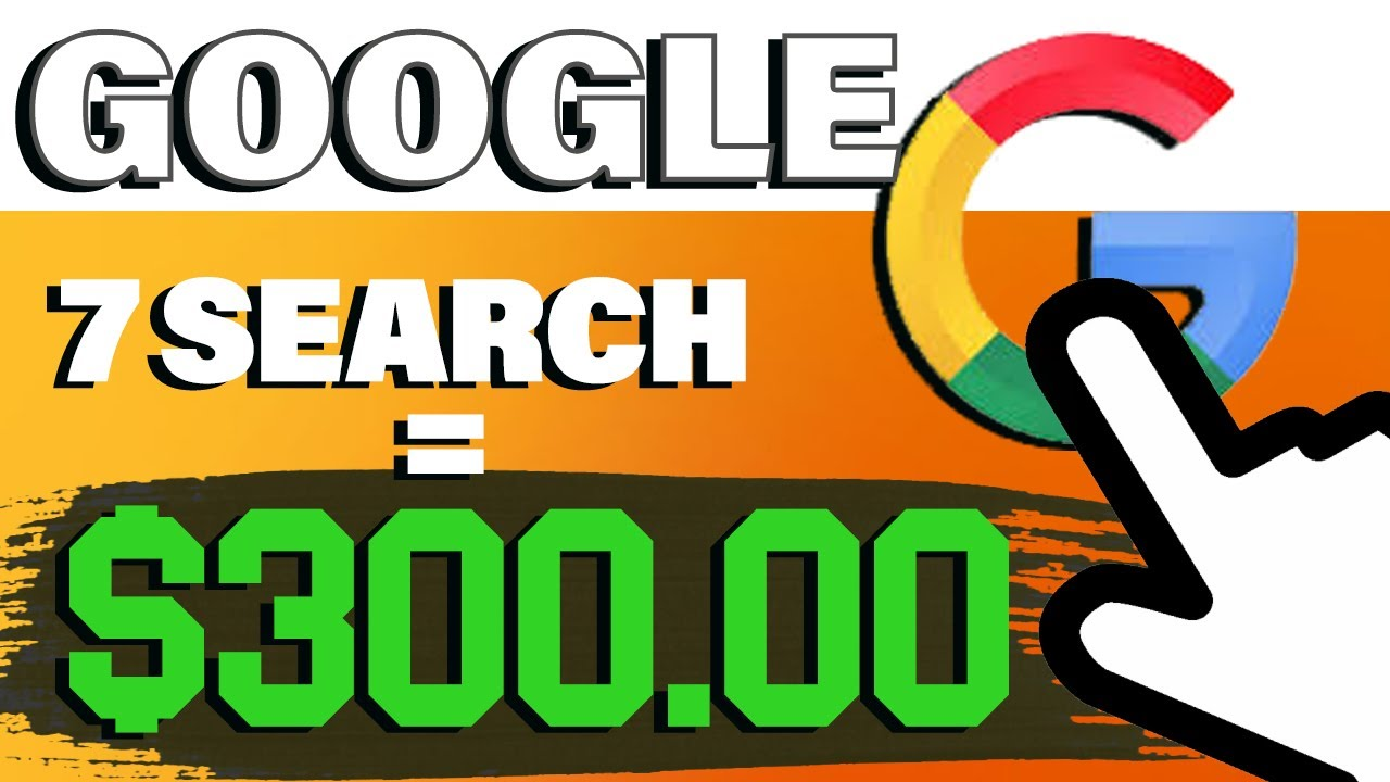 Make $1200! SIMPLY Searching On Google|1000% WORKING (Earn Money Online 2021) thumbnail