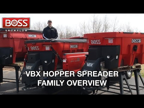 VBX Hopper Spreader Family Overview | BOSS Snowplow
