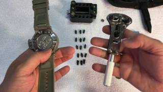 Watch battery replacement on Invicta Subaqua Noma