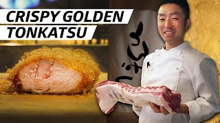 How Crispy Golden Fried Pork Is Made at Tokyo's Tonkatsu Hinata — First Person by Eater
