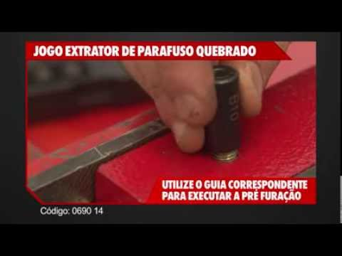 Kit extractor d/pernos 6-16 mm. Cód. N°10690 14