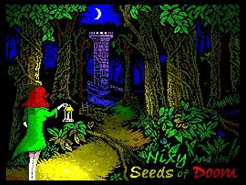 Nixy and the Seeds Of Doom (ULA Plus)  - 2019 ZX Spectrum game
