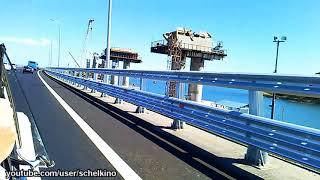 12.06.2018 проезд по Крымскому мосту