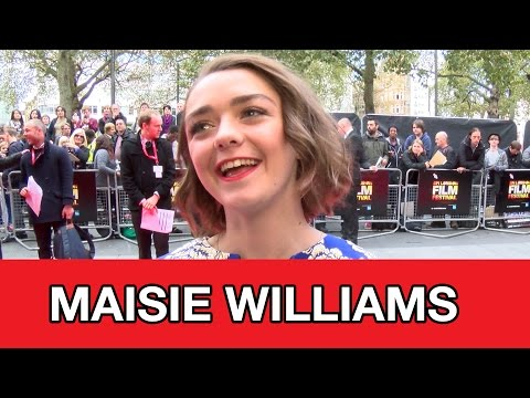Game of Thrones Star Maisie Williams Interview - The Falling | MTW