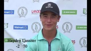 Hayden Lassiter  Interview - Jr Stroke 2015