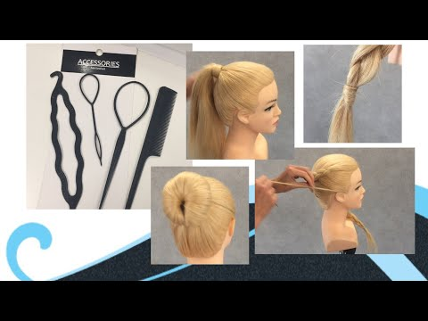 4er Set Kamm und Haar-Zubehör Styling Flechten Magic Hair Pin Frisurhilfe Zopf