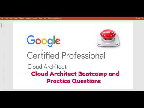 Google Cloud Platform(GCP ) Certified Professional – Cloud Architect – Bootcamp GCP exam