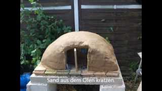 Lehmofen bauen, build a clay oven