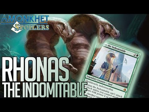 Amonkhet Preview - Rhonas the Indomitable