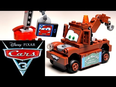 LEGO Тачки 3 Свалка Мэтра 10733 обзор и сборка лего