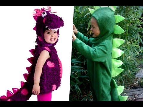 Disfraces bonitos de dinosaurios para niños