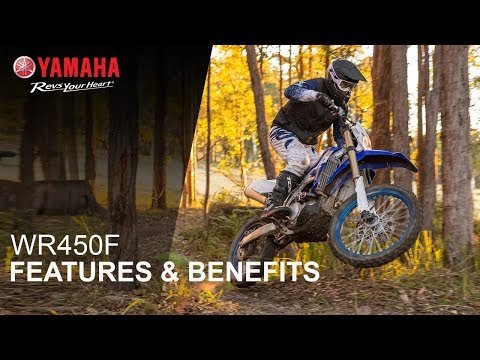 2020 Yamaha WR450F in Tamworth, New Hampshire - Video 2